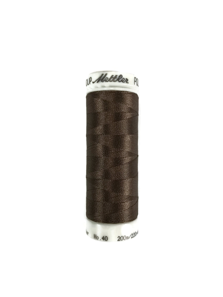 Mettler Poly Sheen Thread Colour 0945 Pine Bark