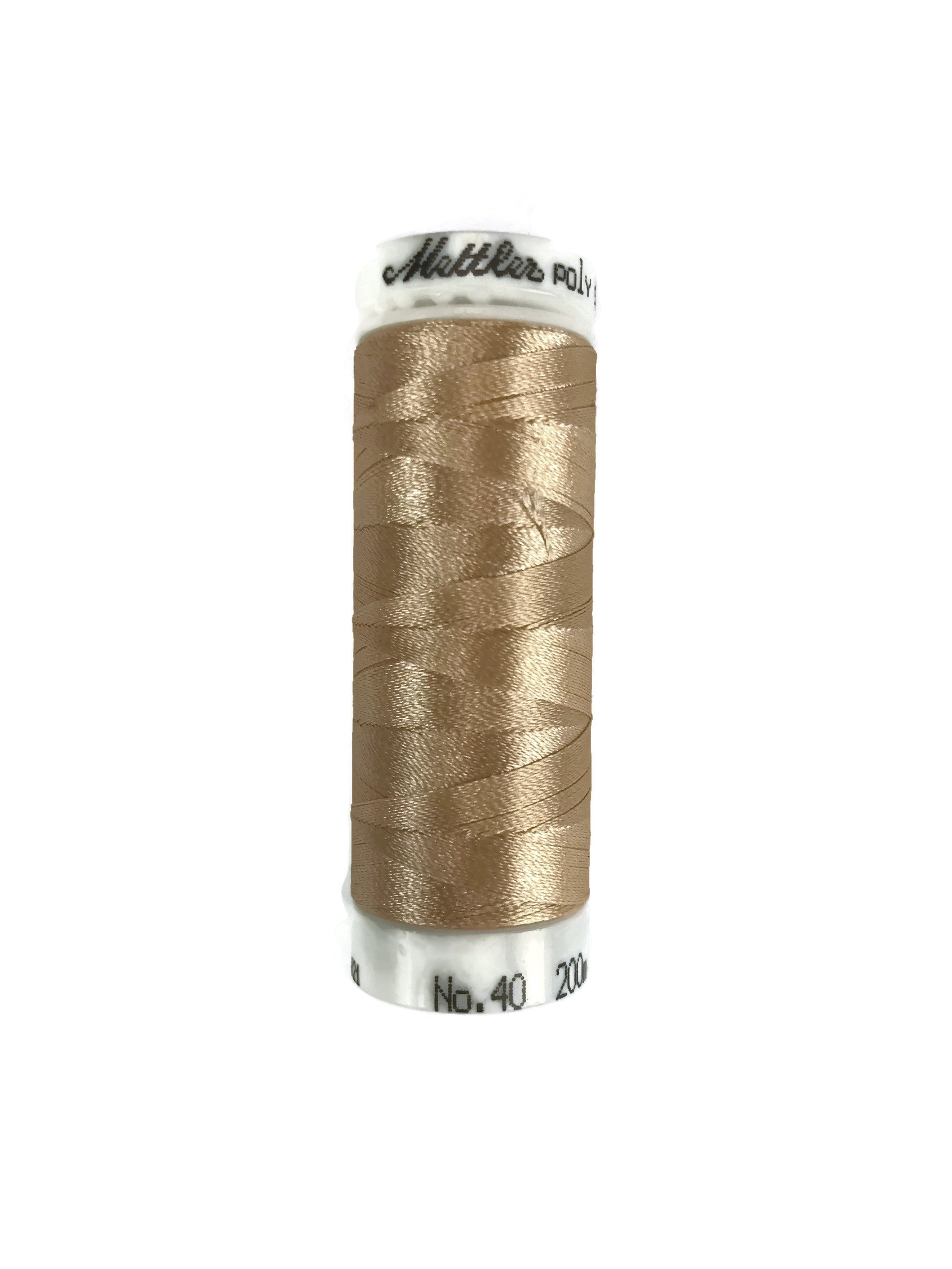 Mettler Poly Sheen Thread Colour 1140 Meringue