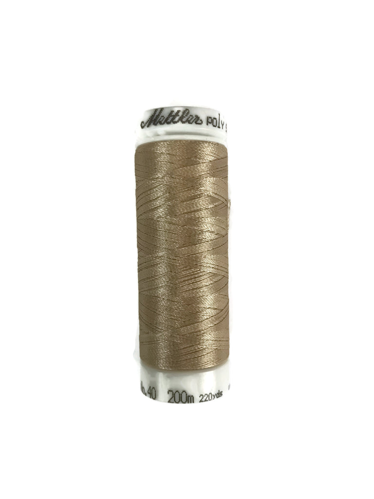Mettler Poly Sheen Thread Colour 1172 Ivory