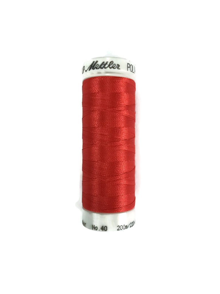 Mettler Poly Sheen Thread Colour 1305 Fax Fire
