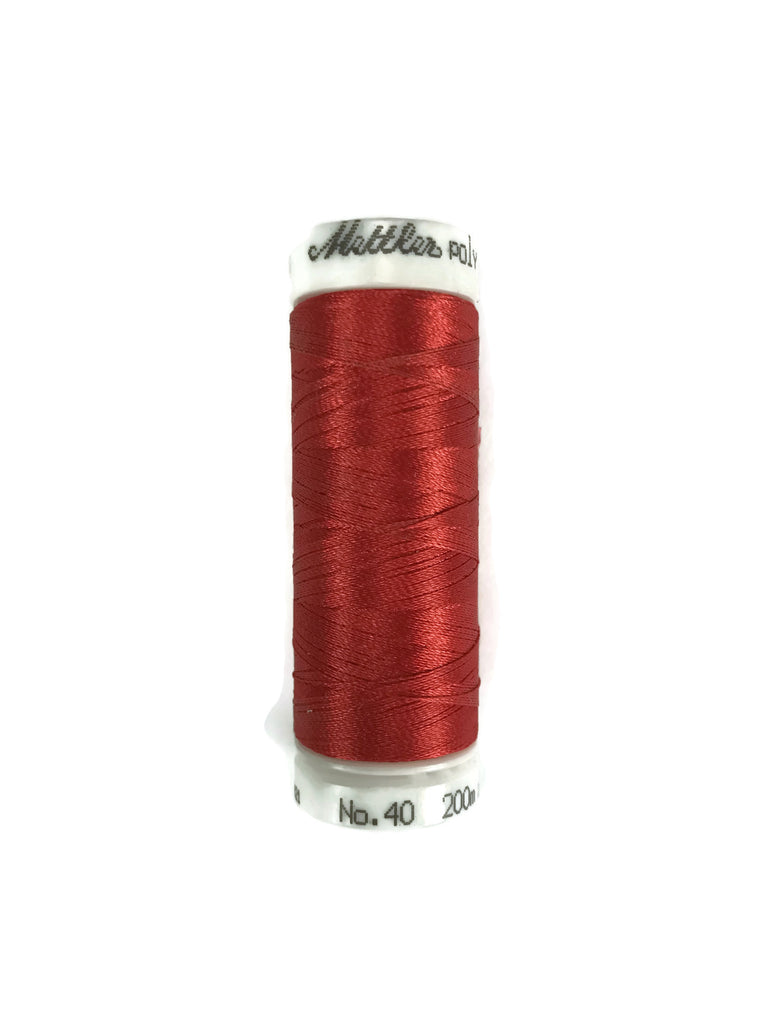 Mettler Poly Sheen Thread Colour 1703 Poppy