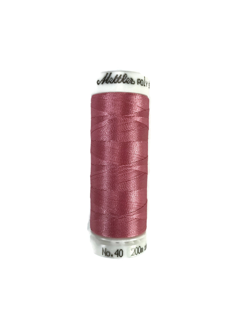 Mettler Poly Sheen Thread Colour 2152 Heather Pink