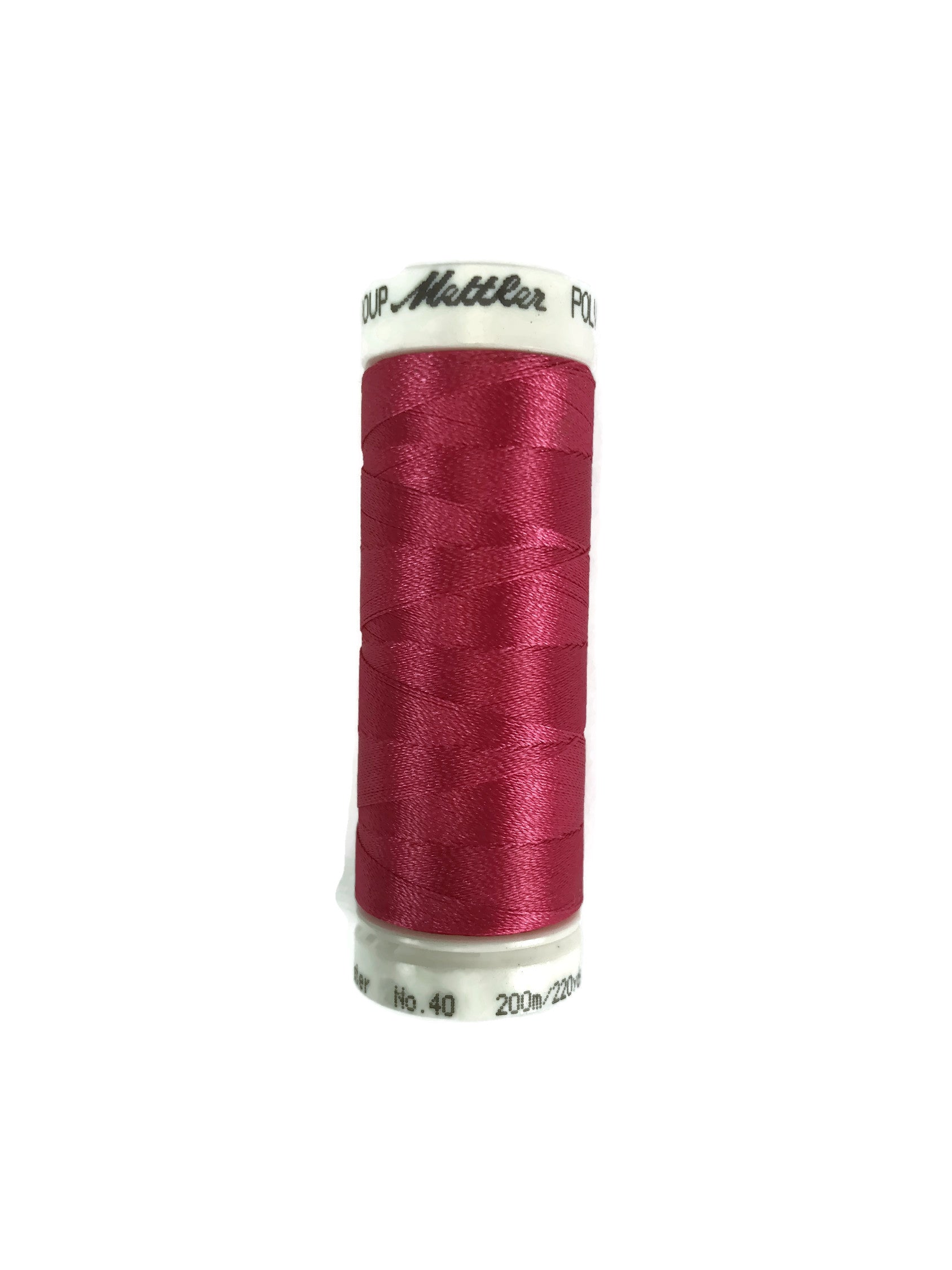 Mettler Poly Sheen Thread Colour 2320 Raspberry