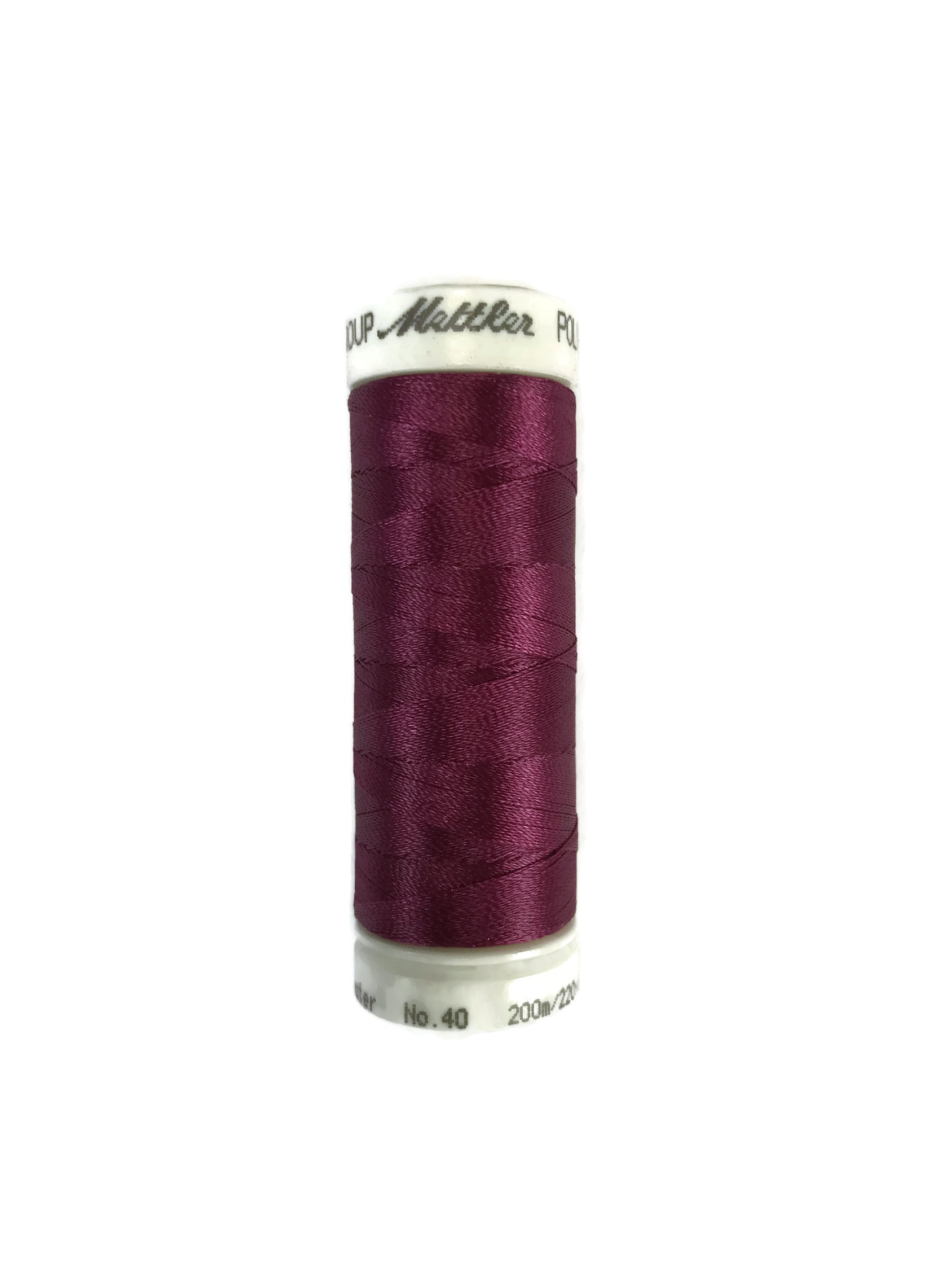 Mettler Poly Sheen Thread Colour 2500 Baysenberry