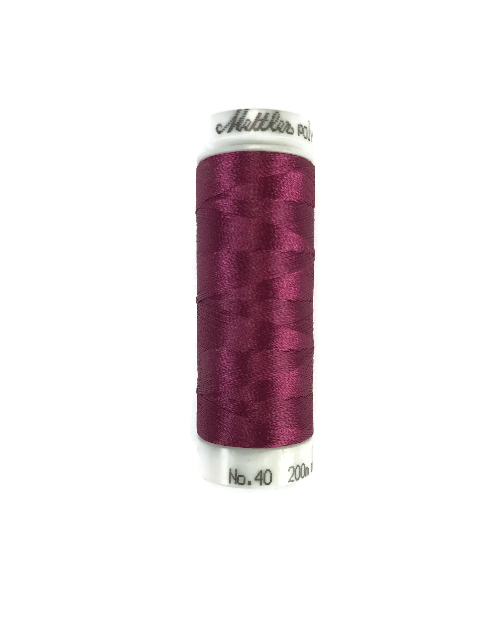 Mettler Poly Sheen Thread Colour 2506 Cerise