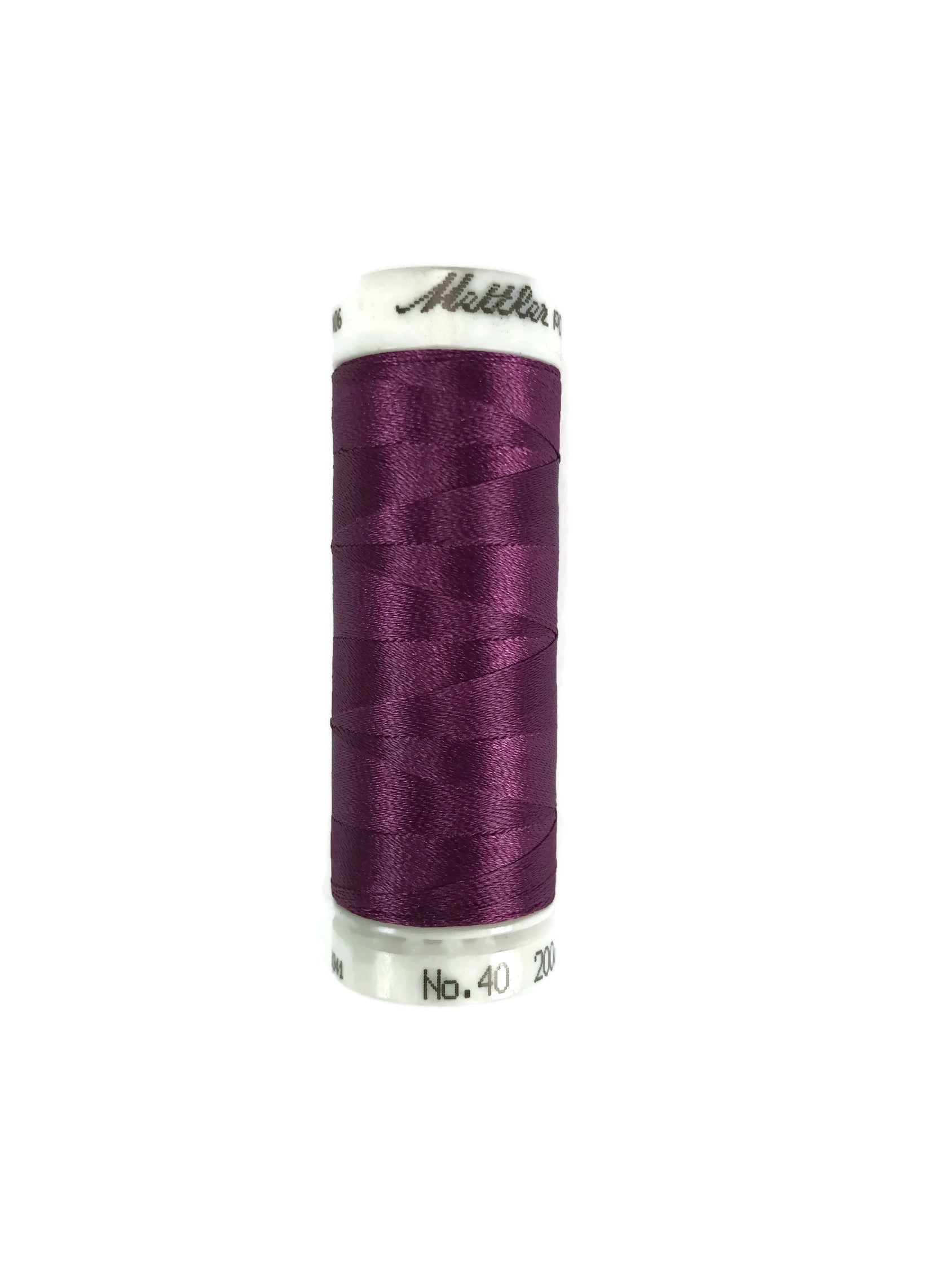Mettler Poly Sheen Thread Colour 2720 Sangria