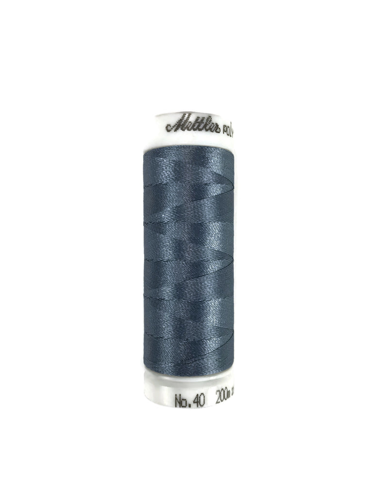 Mettler Poly Sheen Thread Colour 3853 Ash Blue