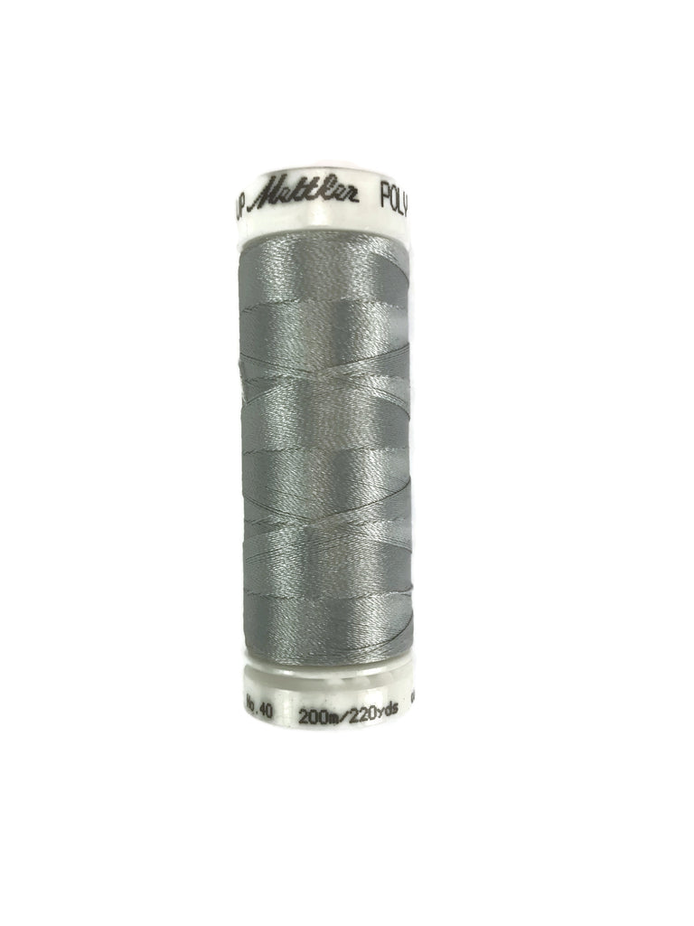 Mettler Poly Sheen Thread Colour 3971 Silver