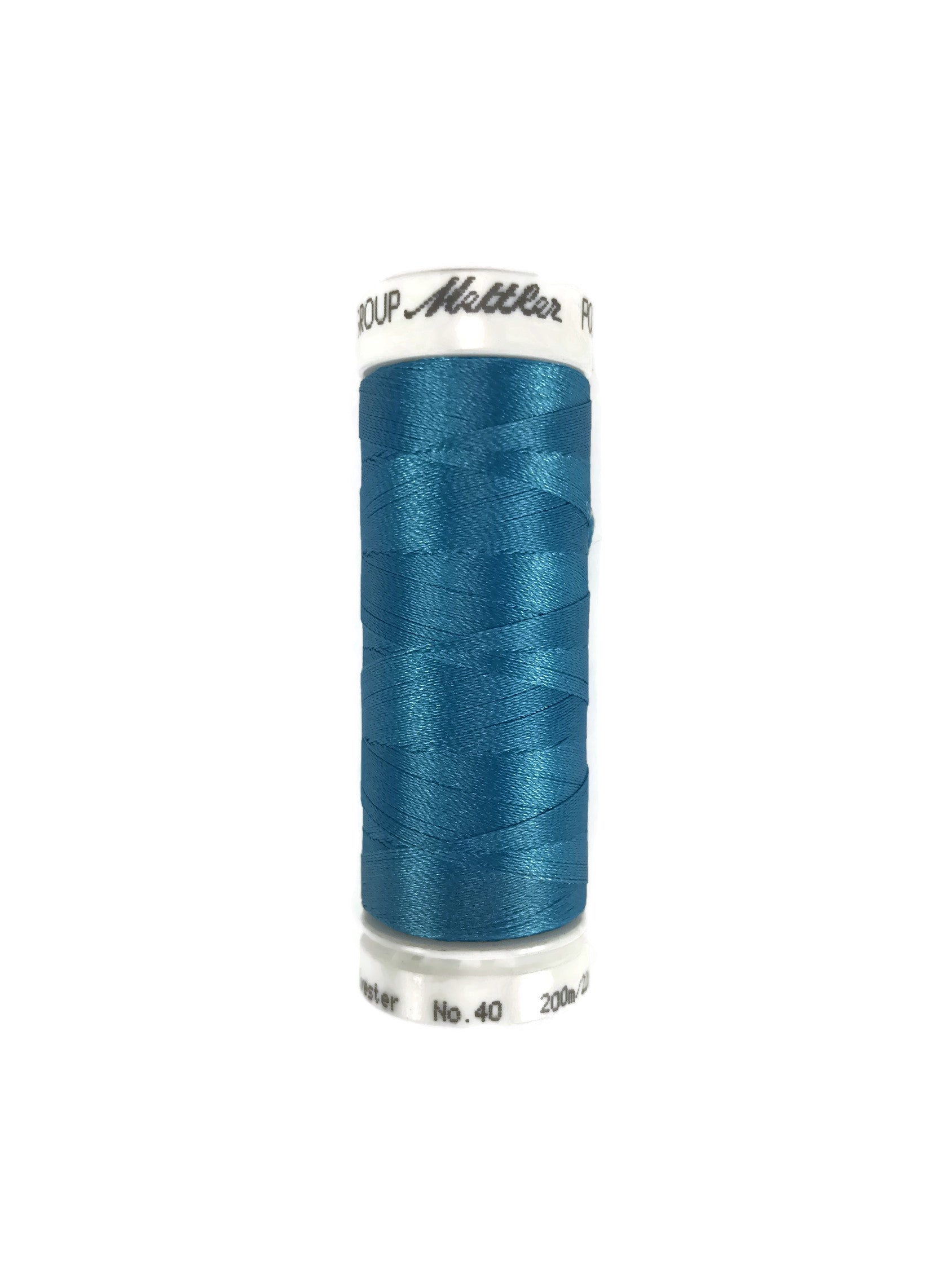 Mettler Poly Sheen Thread Colour 4101 Wave Blue