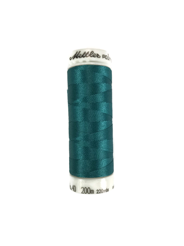 Mettler Poly Sheen Thread Colour 4425 Dark Aqua