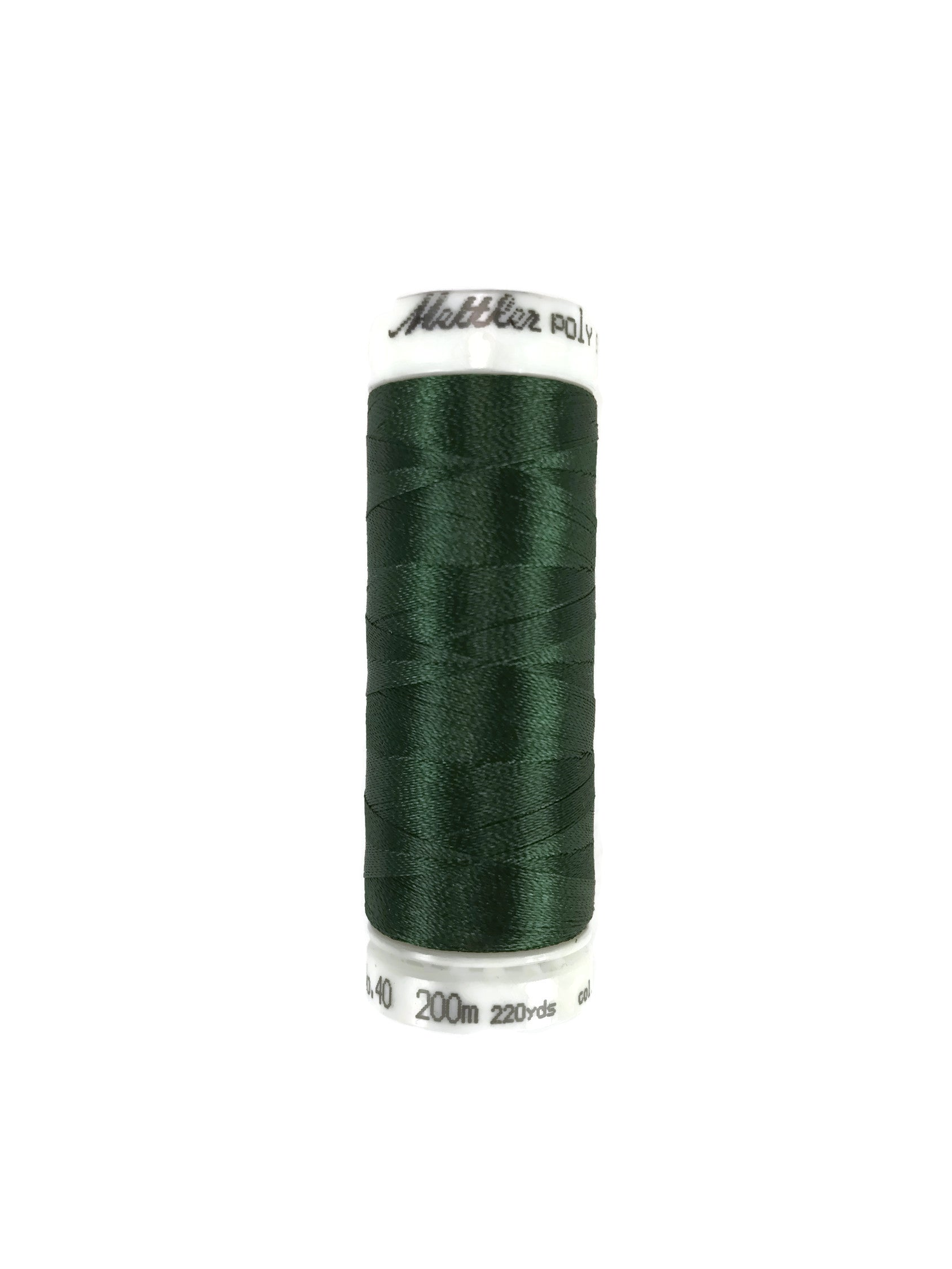 Mettler Poly Sheen Thread Colour 5555 Deep Green