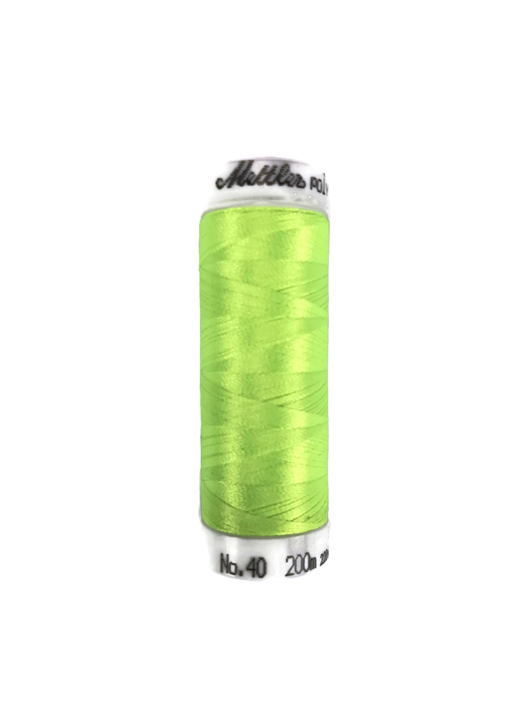 Mettler Poly Sheen Thread Colour 5940 Sour Apple