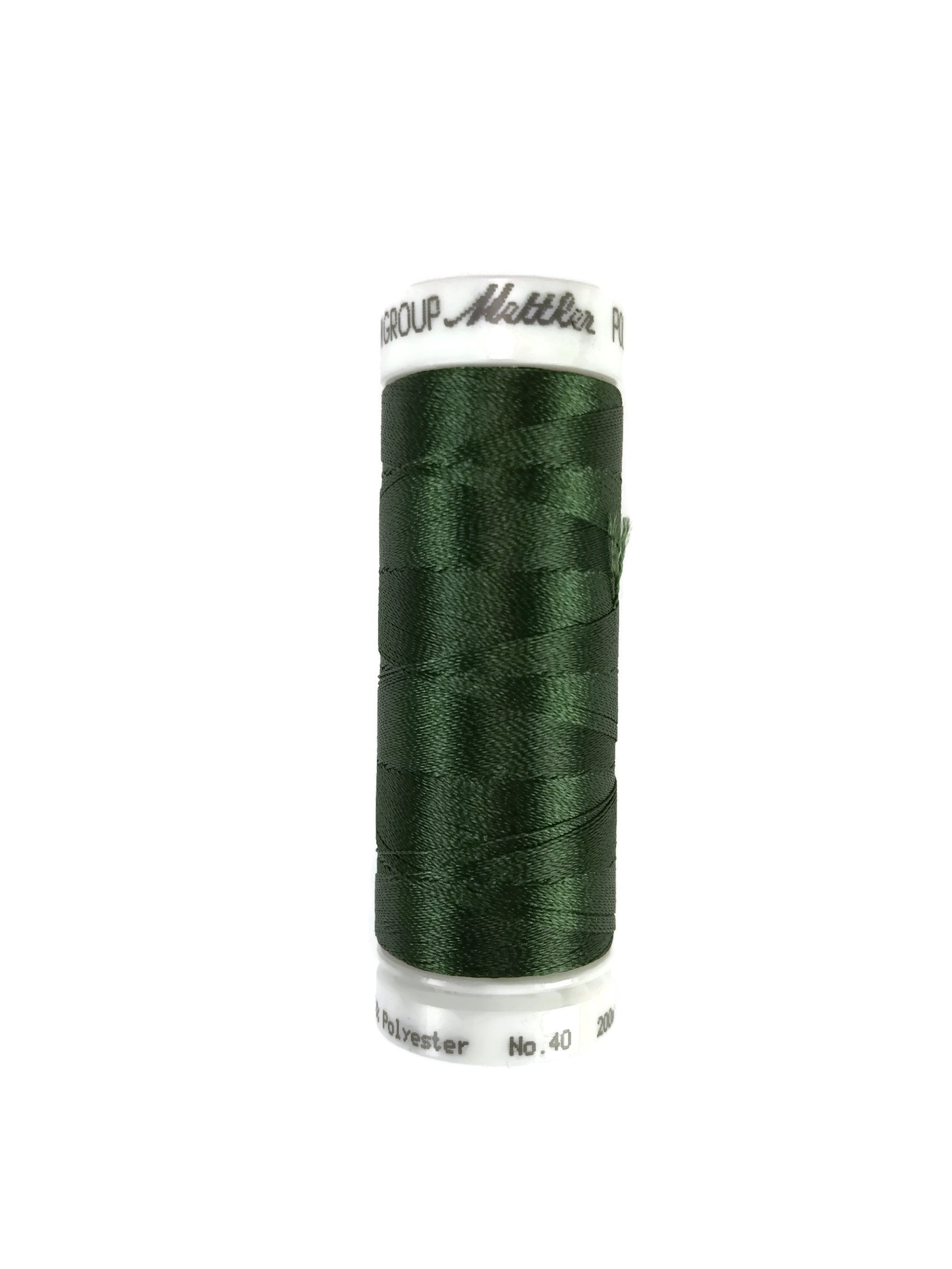 Mettler Poly Sheen Thread Colour 5944 Backyard Green