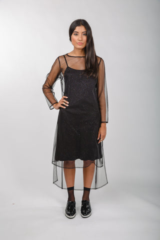Black Run Dress