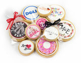 S100 - Mini Shortbread Cookies - Iced Print