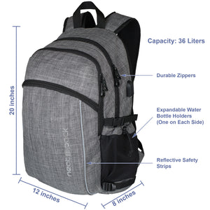 Laptop Backpack - Grey