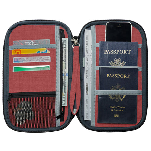 Passport Holder - Rustic