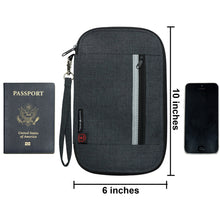 Passport Holder - Black