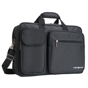 Laptop Computer Briefcase Bag - Black