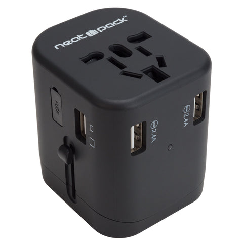 Universal Travel Adapter and Charger