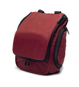 Compact Toiletry Bag - Red