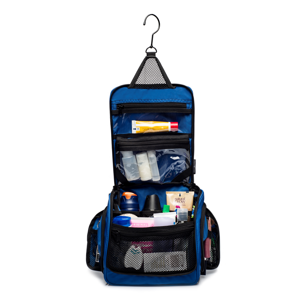 Medium Sized Toiletry Bag - Blue