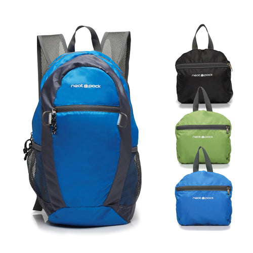 Foldable Daypack/Backpack, 20L, Blue