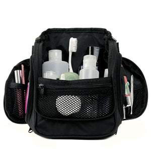 Compact Toiletry Bag - Black