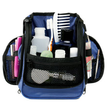 Compact Toiletry Bag - Blue