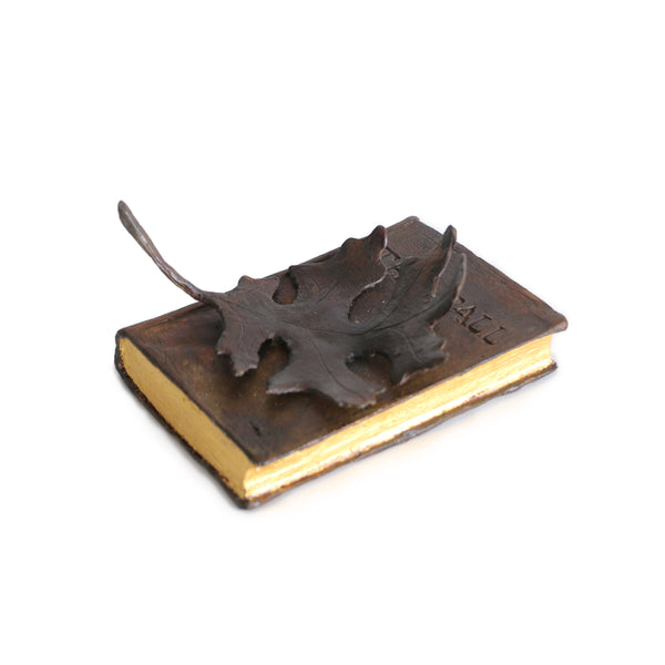 Dibble Studio - 'Autumn Leaves' Bronze Book Series