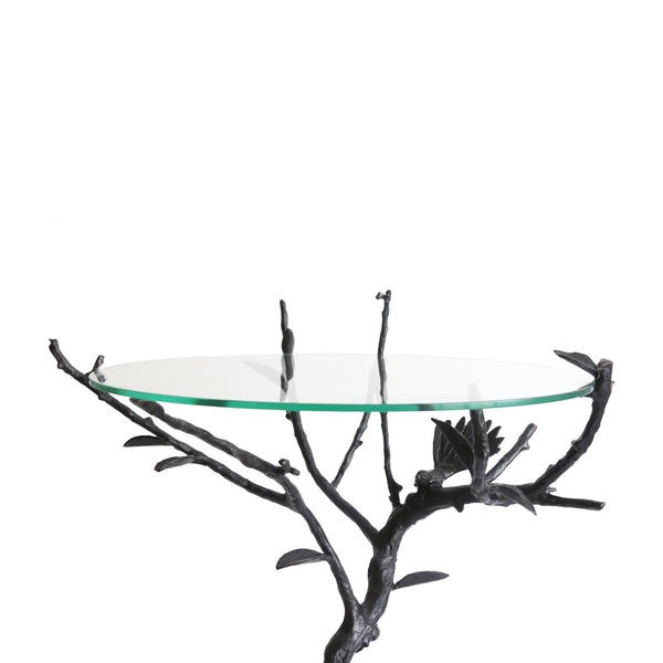 Dibble Studio - Bronze and glass top table