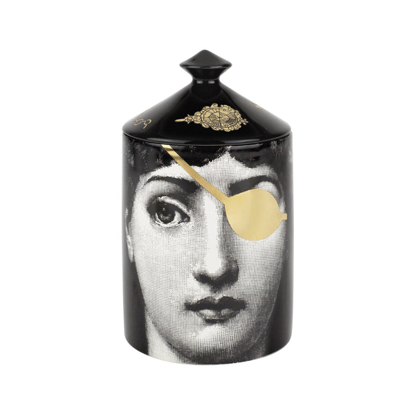 Fornasetti - Gold L'Eclaireuse Candle
