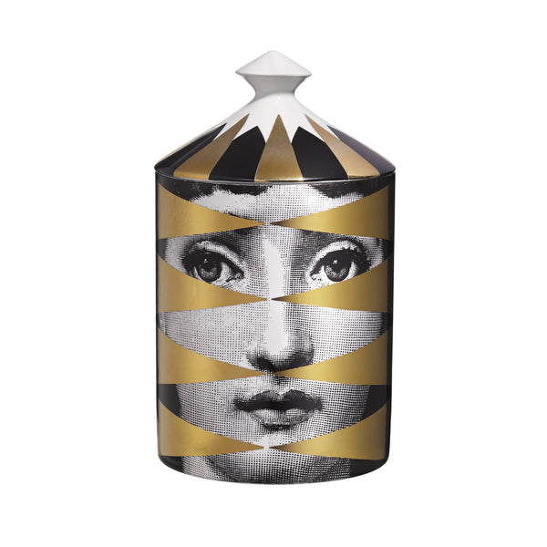 Fornasetti - Losanghe candle gold