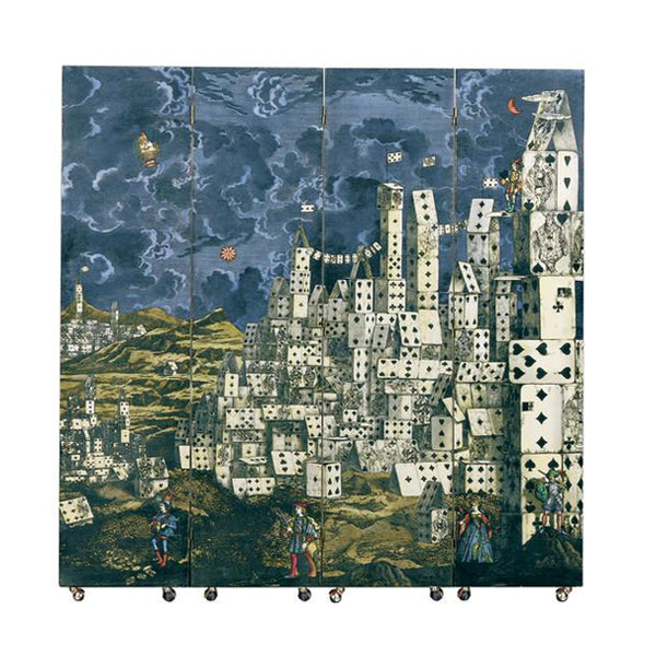 Fornasetti Screen City of Cards