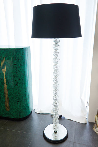 Murano Glass Standard Lamp