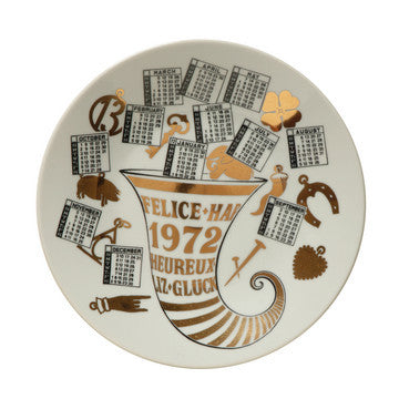 Fornasetti Vintage limited edition plate - 1972