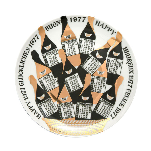 Fornasetti Vintage limited edition plate - 1977