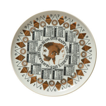 Fornasetti Vintage limited edition plate - 1978