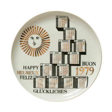 Fornasetti Vintage limited edition plate - 1979