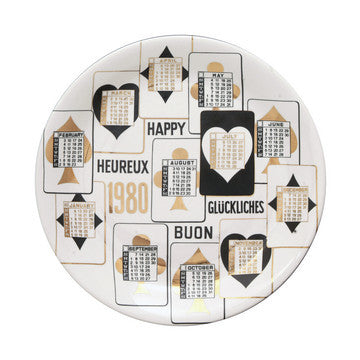Fornasetti Vintage plate limited edition - 1980