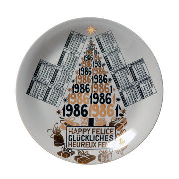 Fornasetti Vintage limited edition plate - 1986