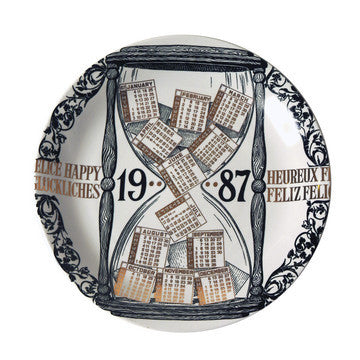 Fornasetti Vintage plate limited edition - 1987