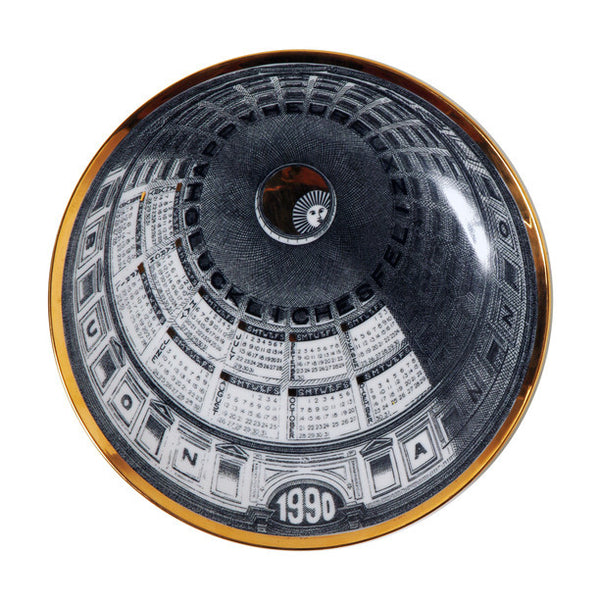 Fornasetti Vintage limited edition plate - 1990