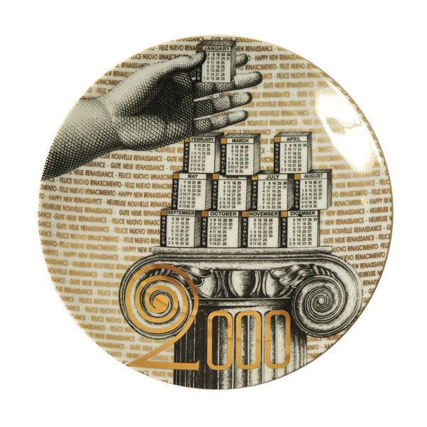 Fornasetti Vintage limited edition plate - 2000