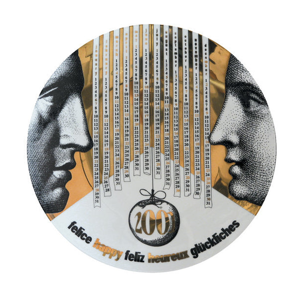 Fornasetti Vintage plate limited edition - 2001