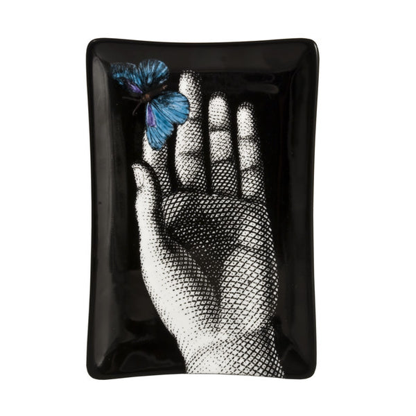 Fornasetti - Butterfly porcelain tray