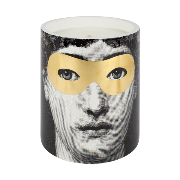 Fornasetti Candle - Gold Burlesque (Large)