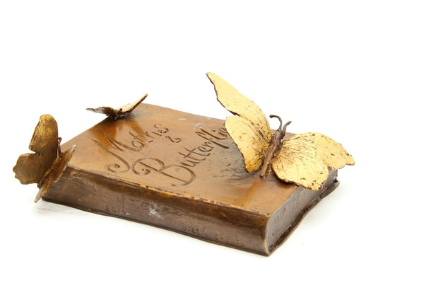 Dibble Studio - 'Moths and Butterflies' bronze book series