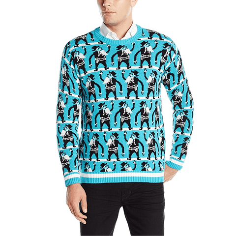 Rabbi Conga Line Ugly Christmas Sweater