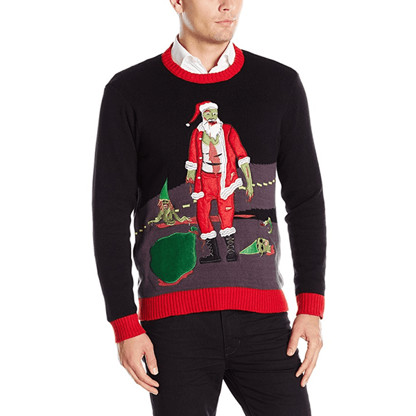 Walking Dead Ugly Christmas Sweater
